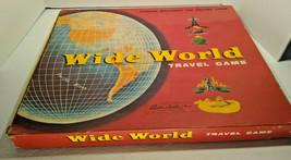 Vintage Wide World Travel Board Game Parker Brothers ©1957  - $28.01