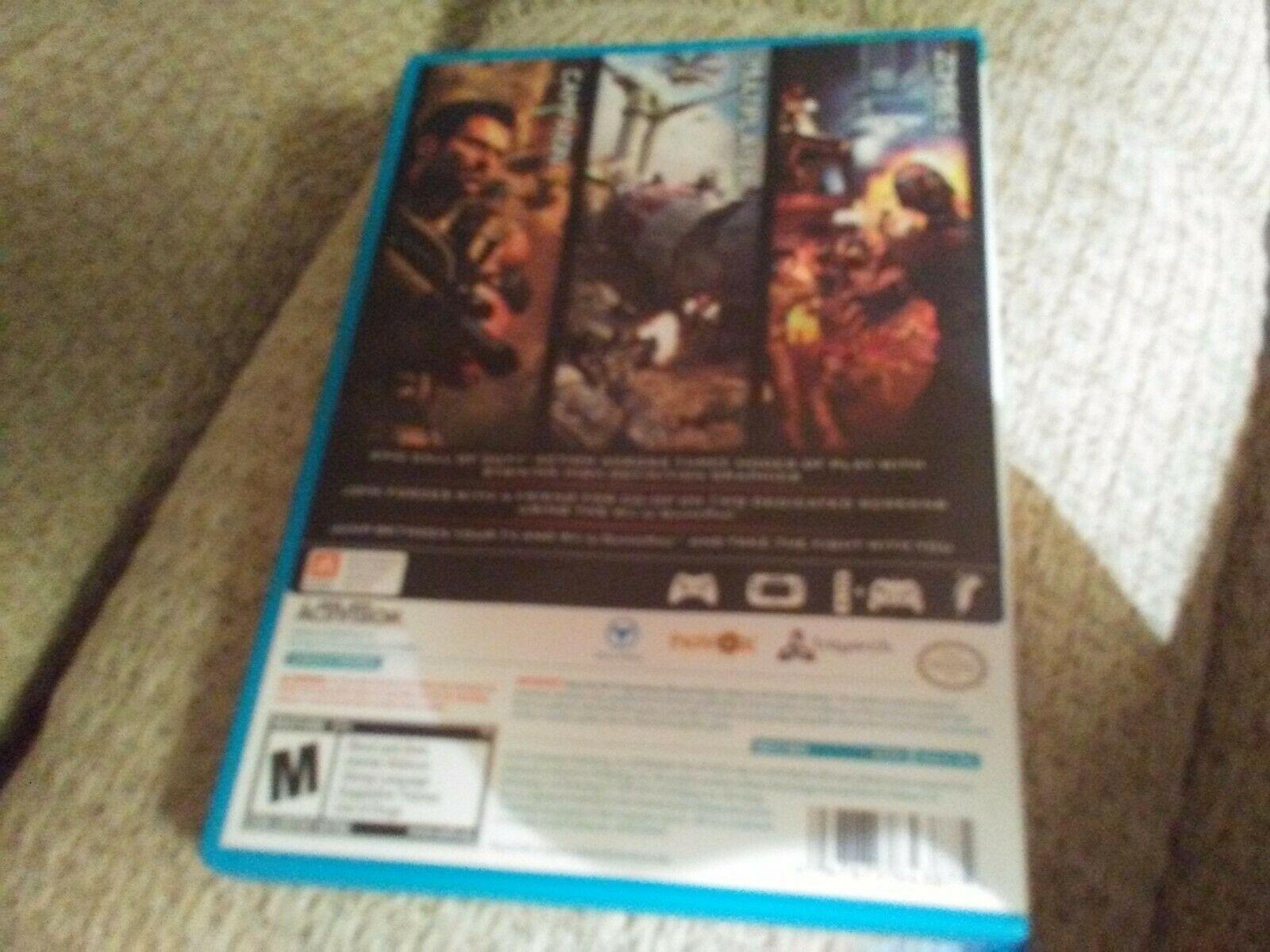 Call of Duty: Black Ops II (Nintendo Wii U, 2012) image 2