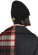 "NEW GUCCI CURRENT BLACK WOOL LOGO ""PITTSBURGH PIRATES"" PATCH BEANIE HAT ... - $299.19"