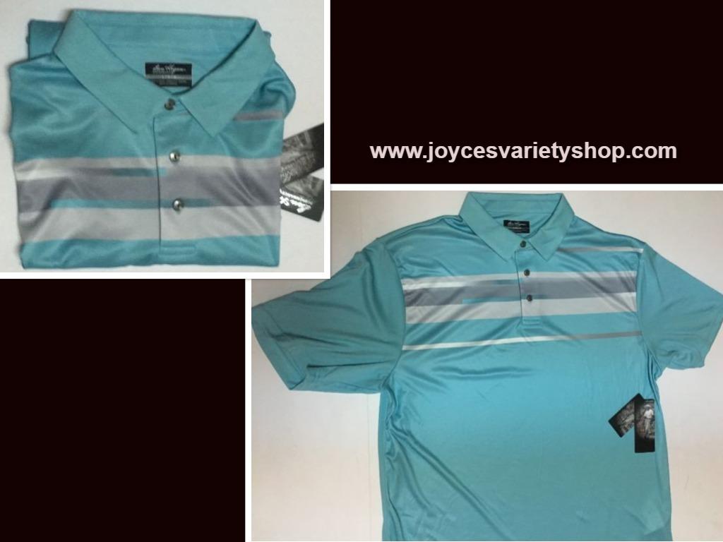 Ben hogan blue shirt web collage