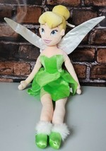 "Disney Store Plush Tinkerbell Stuffed Doll Toy Authentic 21"" Fairy Tink ... - $17.45"