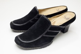 Sofft 8 Black Suede Mules - $38.00