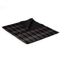 ONIVA - a Picnic Time Brand Outdoor Picnic Blanket Tote, Black Tartan - $19.63