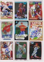 Philadelphia Phillies Signed Autographed Lot of (9) Baseball Cards - $14.99