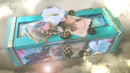 HAUNTED LETTERS BOX HALLOWEEN LOST LOVE CONTACT ME SPECIAL SAMHAIN MAGICK - $505.77