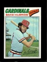 1977 TOPPS #516 BAKE MCBRIDE EXMT CARDINALS  *X3668 - $2.48