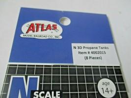 Atlas # 4002015 Propane Tanks 8 Pack 3D Printed Accessories N-Scale image 2