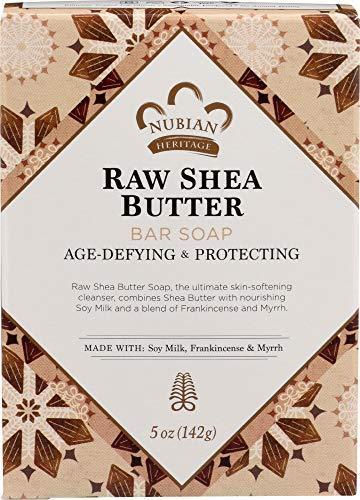 Nubian Heritage (ONLY 1 BAR) Bar Soap Raw Shea Butter with Soy Milk Frankincense - $6.92