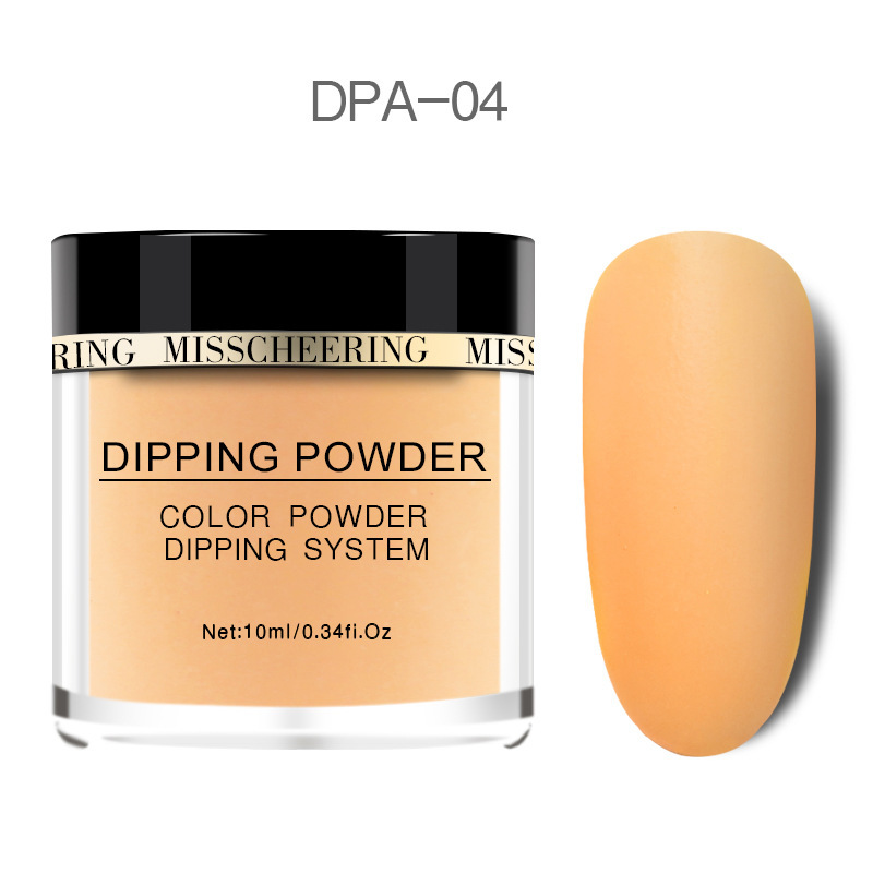 Matte Color Manicure Powder Nail Dipping Powder Nail Art Decorations 04