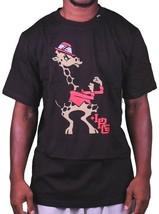 L-R-G LRG Sollevato Play Like A Champion Boxe Giraffa Nero o Bianco T-Shirt Nwt