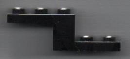 Black Lego 2x5 Bracket Plate - Car / Simpson Set.  - $1.29