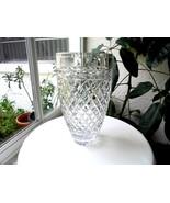 "Rogaska Crystal 10"" Centerpiece Vase Signed - $54.44"