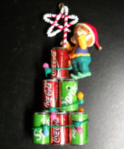 Enesco Christmas Ornament 1994 Coca Cola Holiday Stars Sprite Coke Festi... - $13.99