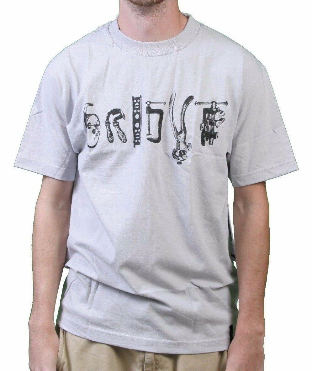 Orisue Hombre Plata Gris Claro Mano Herramientas Artes & Manualidades T-Shirt