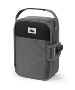 Arctic Zone Zipperless Lunch Box lunchbox cooler built in tray Black and... - $14.07