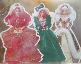 """Set of 3 Hallmark Barbie Happy Holidays Collection Blank Cards 8.5"""" x 5.... - $11.70"""
