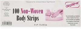 Depileve Non Woven Body Strips, 11 Ounce