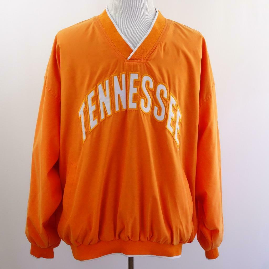 Primary image for Vesi Sportswear UT Tennessee V Neck Flannel Lined Pullover Mens Sz 2XL