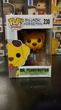 Funko Pop! Animation Bojack Horseman Mr. Peanutbutter #230 WITH PROTECTOR! - $24.98