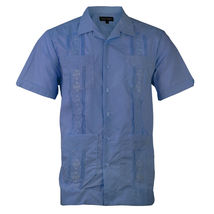 Alberto Cardinali Men's Guayabera Short Sleeve Cuban Casual Dress Shirt image 15