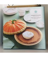 Martha Stewart Pumpkin Pie Dish Server Keeper Deep Dish EUC - $28.66