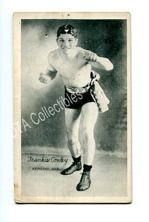 Primary image for FRANKIE CONLEY-1921-BOXING EXHIBIT CARD FR/G