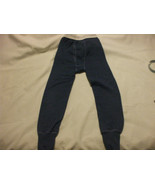 Thermal Blue Long John Leggings  2-3 Years  Small Boys Cotton Blend - $4.33
