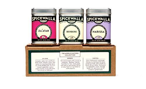 Primary image for Spicewalla Middle Eastern Spices Set | Harissa Spice, Zaatar or Zahtar, Berbere,