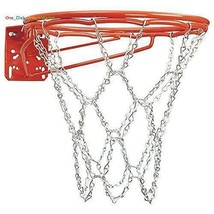 Heavy Duty Basketball Chain Steel Metal  Net Fits Standard Hoop Rim - $13.85