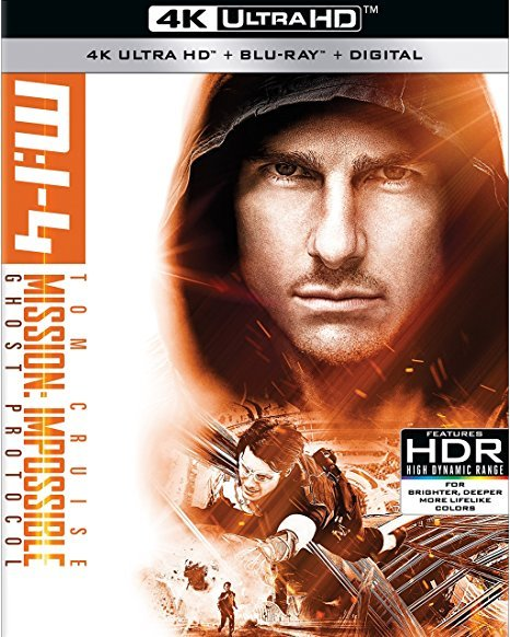 Mission: Impossible Ghost Protocol (4K Ultra HD + Blu-ray)