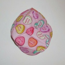 Longaberger 2013 Sweetheart Basket Liner Pink Candy Hearts New 24230 - $12.86