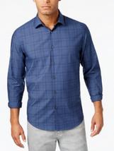 Alfani Men's Plaid Shirt, Nlue Jeans, Size M, MSRP $55 - $22.76