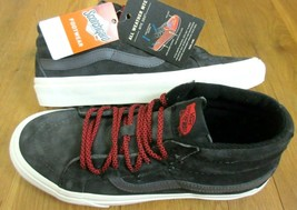 Vans Mens Sk8-Mid Reissue MTE All Weather Forged Iron Grey shoes Size 10... - $67.31