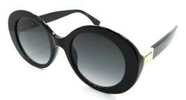 Fendi Sunglasses FF 0293/S 8079O 52-22-140 Peakaboo Black / Dark Grey Gradient - $161.70