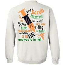 Being A Doctor T Shirt, Being A Scrub Nurse Is Easy Sweatshirt - $16.99+