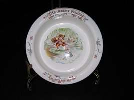 Royal Albert Bone China 1986 Beatrix Potter Mr Jeremy Fisher Bowl - $44.99