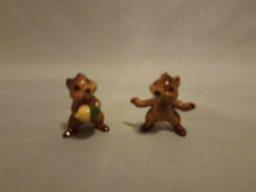 Hagen Renaker Chip And Dale Figurines