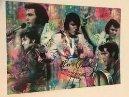 Elvis Presley Postcard Elvis Five Images In One - $3.46
