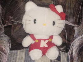 "13"" Talking Hello Kitty Plush Toy From 1983 Sanrio Rare - $98.99"