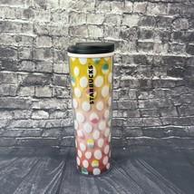 Starbucks Easter Eggs Mug Cup Tumbler Travel Pink Yellow - $16.65