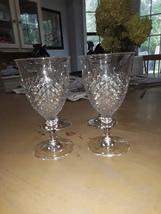 VTG Anchor Hocking Wexford Water Goblets  - $42.00