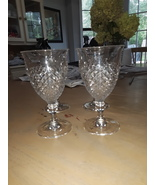 VTG Anchor Hocking Wexford Water Goblets  - $42.00
