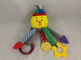 """Eden Clown Activity Plush 8"""" Teether Rattle Stuffed Animal toy - $10.95"""