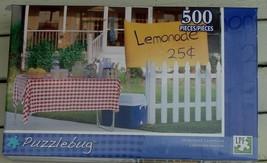 BRAND NEW FACTORY SEALED 500 PiecePuzzlebug Jigsaw Puzzle Homemade Lemonade - $6.92