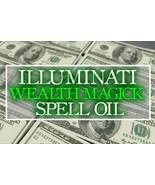 HAUNTED SPELL OIL: ILLUMINATI WEALTH! OCCULT KNOWLEDGE! WHITE MAGICK! PROSPERITY - $48.99