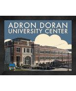 "Morehead State ""Adron Doran University Center"" 13 x 16 Art Deco Framed P... - $39.95"