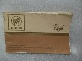 BUICK REGAL     1982 Owners Manual 14721 - $13.85