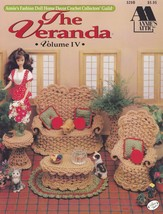 The Veranda, Annie's Crochet Fashion Doll Furniture Pattern Booklet 529B... - $7.95
