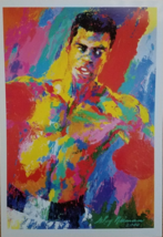 "MUHAMMAD ALI by Leroy Neiman Promo Poster Card 7-1/2"" x 5-1/4""""  - $9.95"