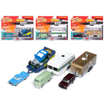 Tow & Go Series 1, Set A of 3 Cars Johnny Lightning 50 Years Limited Edi... - $88.81